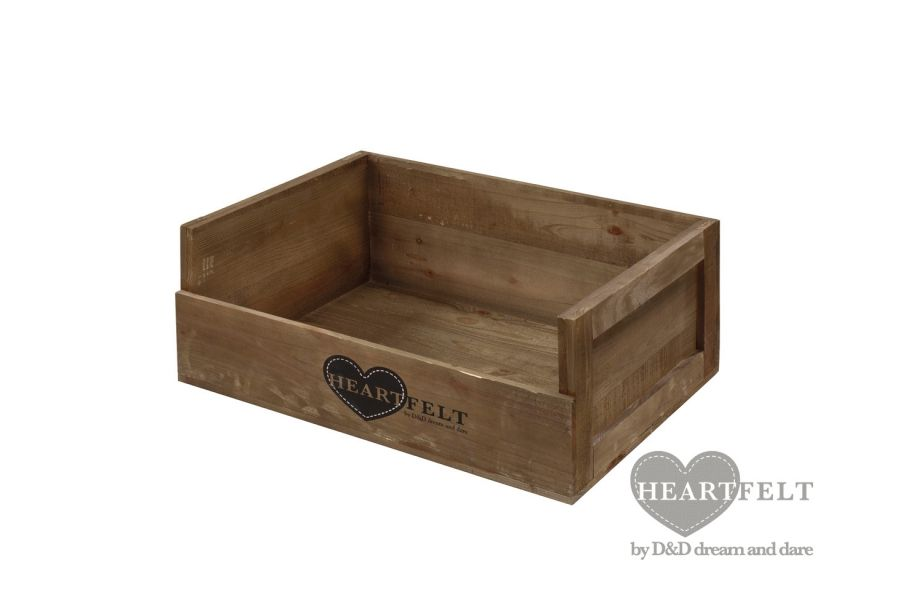 Heartfelt Wooden Crate Heaven