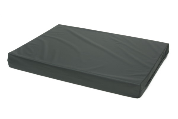 Losse hoes hondenbed/matras Nylon antraciet
