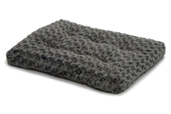 Comfort Ombre Swirl Fur Pet Bed Grijs