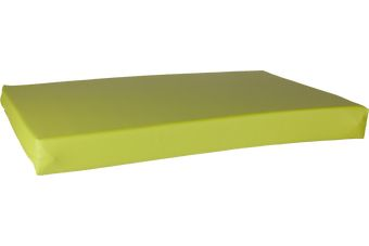 HD-Bed Leatherlook lime